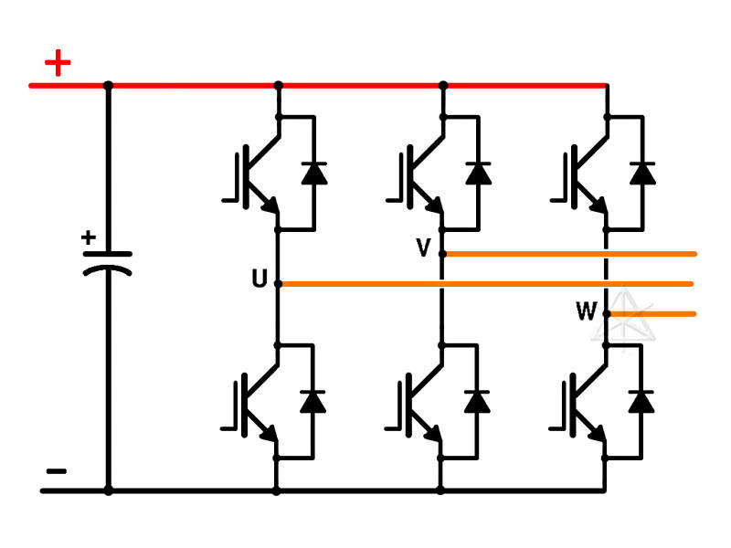 3 phase wiring diagram for inverter