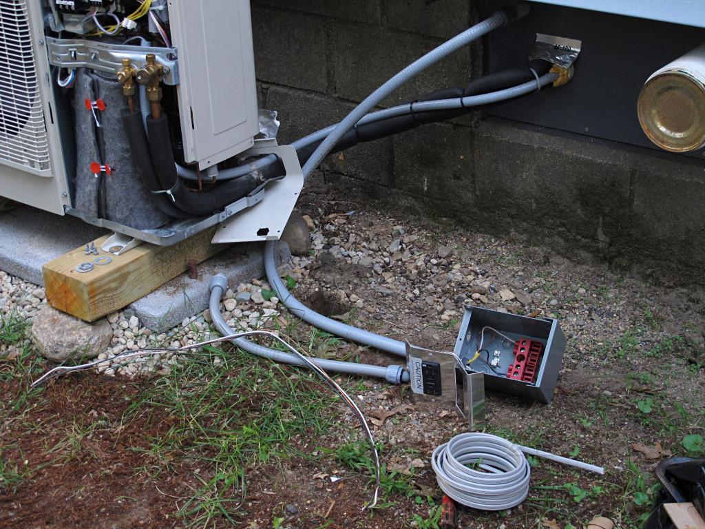 house retrofit 21 re routing the hvac electrics